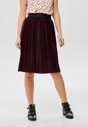 JDYNETHE - A-line skirt - bordeaux