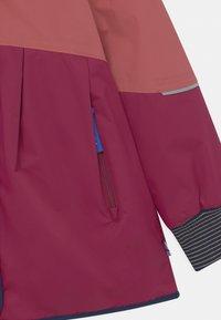 Finkid - AINA MUKKA - Winter coat - rose/navy - 2