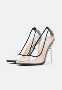BEBO - EPOXY - High heels - clear/black - 2
