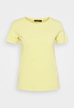 Basic T-shirt - zartgelb