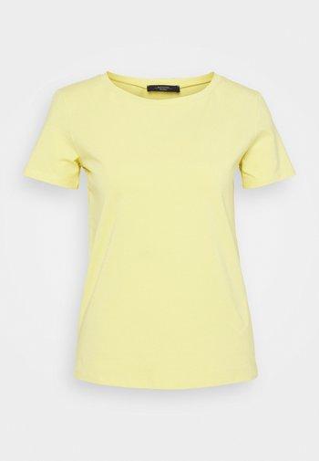 T-shirt basique - zartgelb