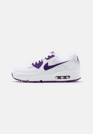 AIR MAX 90 - Sneakers basse - white/voltage purple/black