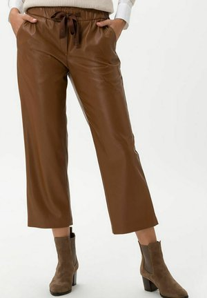 STYLE MAINE S - Trousers - cognac