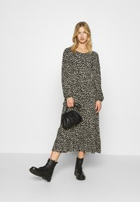 ONLY - ONLZILLE LAYERED DRESS - Day dress - black - 1