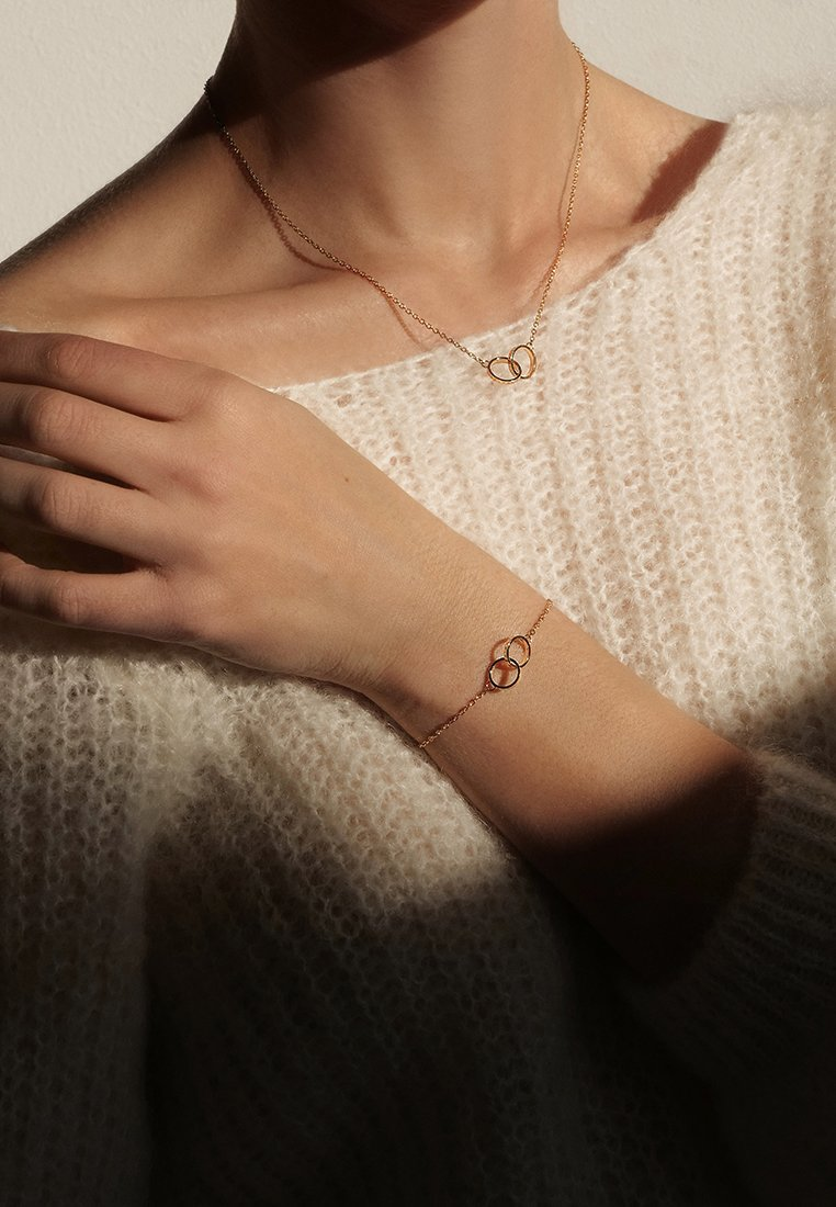 Daniel Wellington - ELAN UNITY NECKLACES - Ketting - rose gold