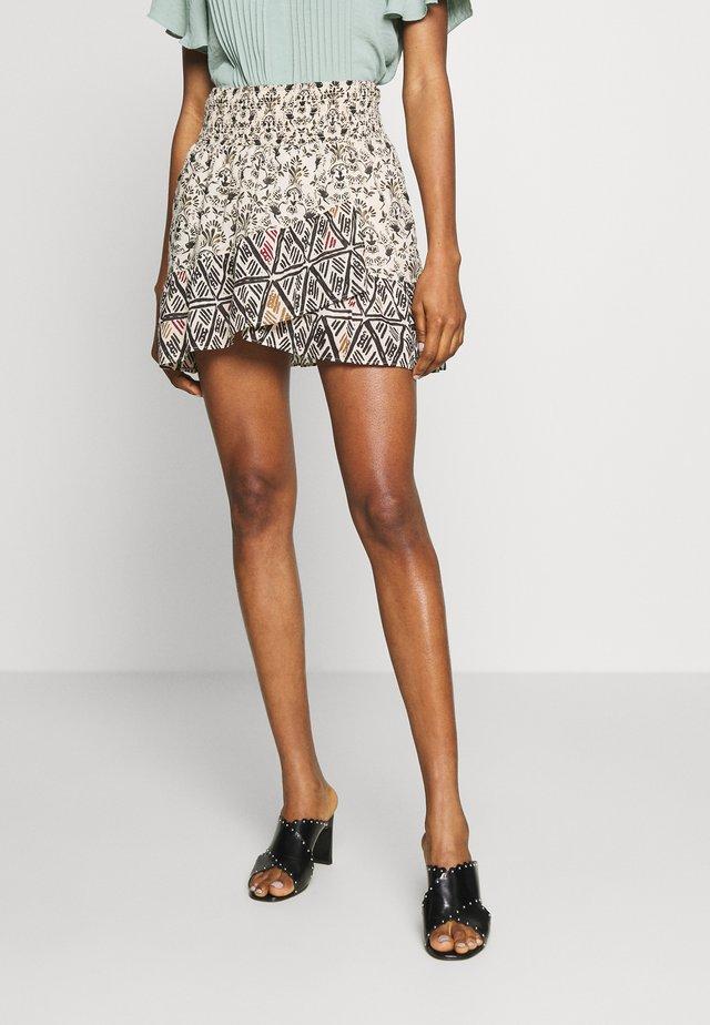 RIVIERA MINI - A-line skirt - multicolor