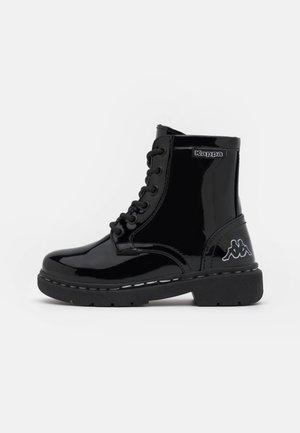 DEENISH SHINE UNISEX - Snowboots  - black/silver