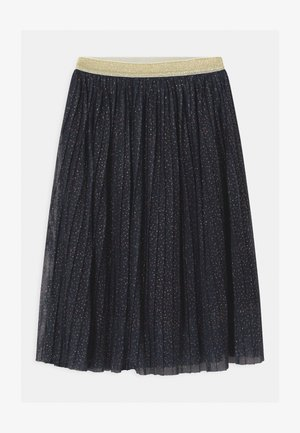 SYBIL PLEAT - A-line skirt - navy blazer