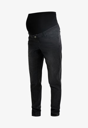 MOM  - Džíny Slim Fit - washed black
