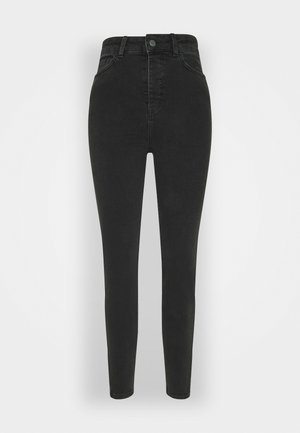 OBJKELLY HARPER - Jeans Skinny Fit - black denim