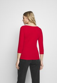 Q/S designed by - Long sleeved top - flame red - 2