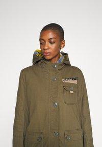 Desigual - CHAQ SIGURD - Zimní kabát - kiwi - 7