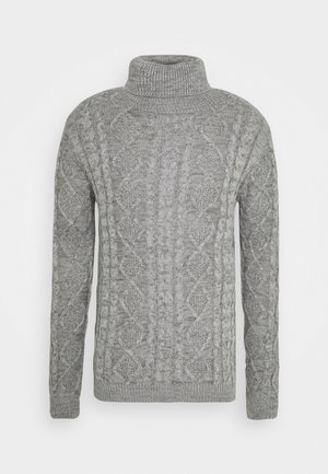 TIMBER - Strickpullover - light grey melange