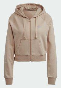 adidas Originals - Zip-up sweatshirt - beige - 9