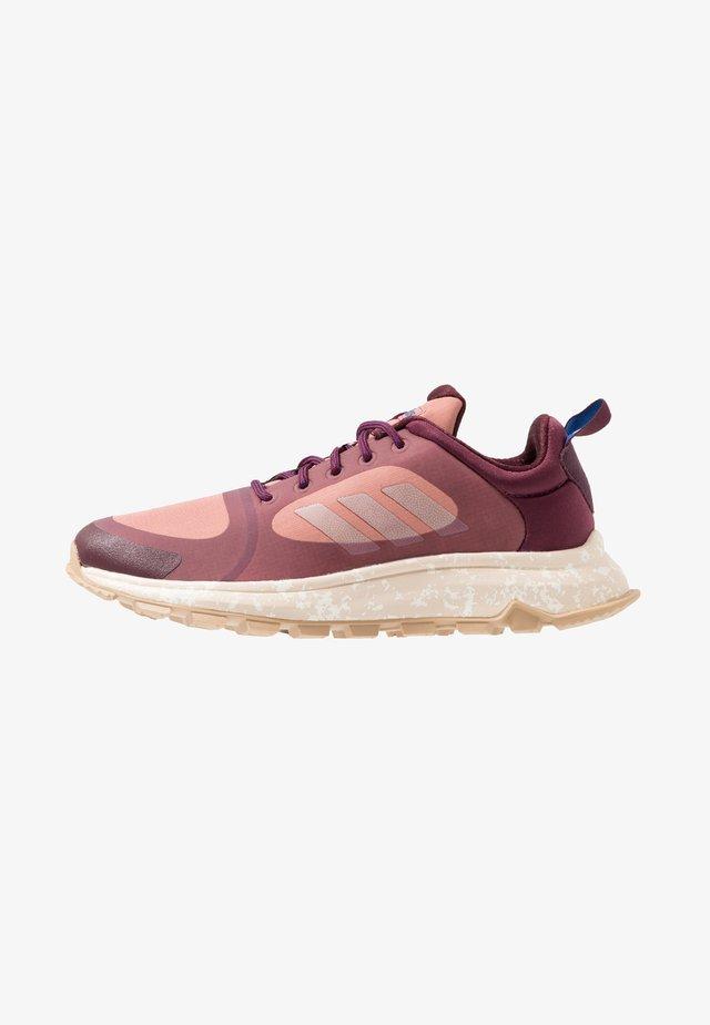 RESPONSE TRAIL X - Trail running shoes - maroon/rawpin