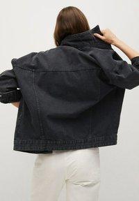 Mango - Denim jacket - black denim - 2