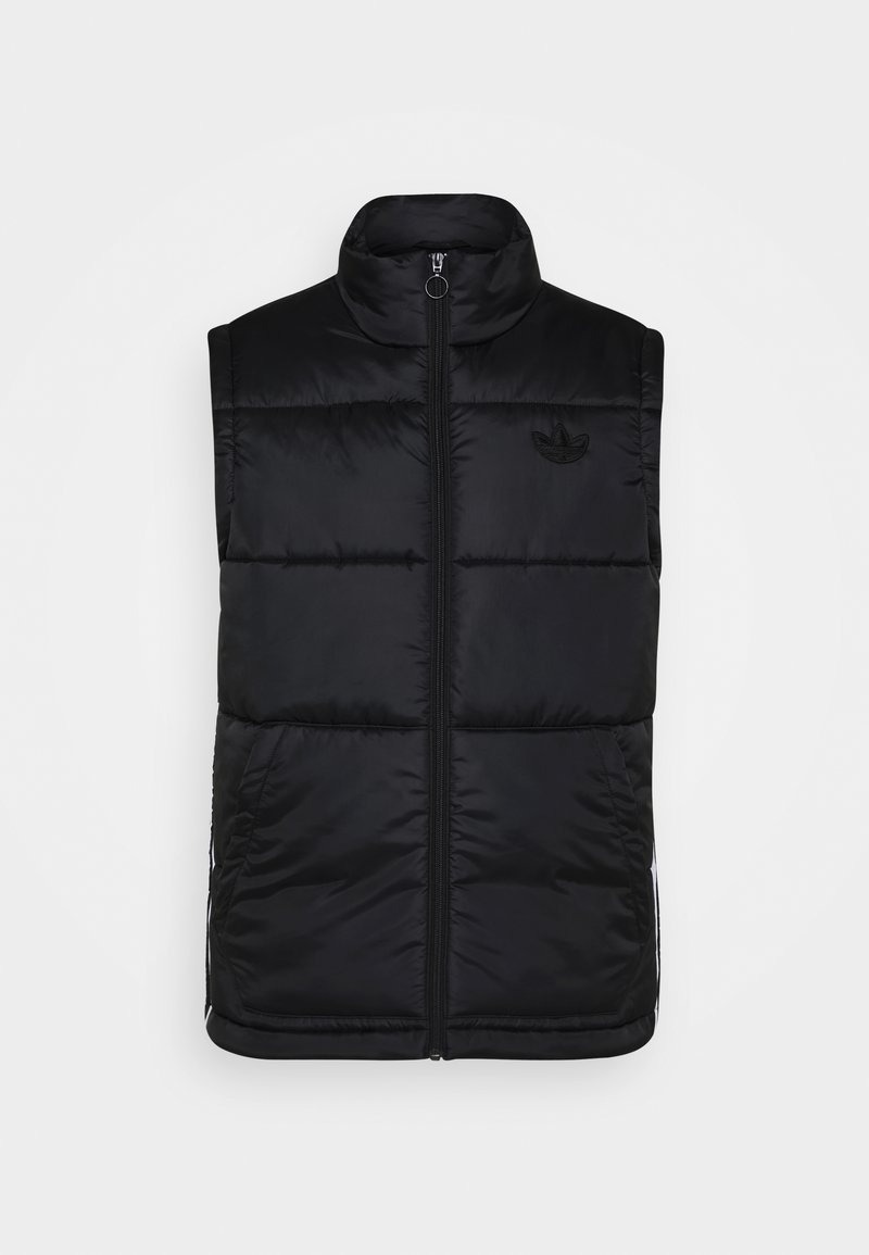 adidas Originals - PADDED PUFF - Waistcoat - black