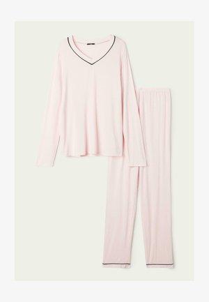 SET - Pyjama set - rosa nuvola/nero