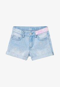 Desigual - Denim shorts - blue - 0