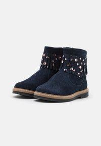 Friboo - LEATHER - Korte laarzen - dark blue - 1