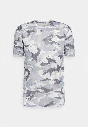 TEE CAMO - Print T-shirt - grey fog