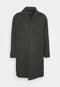 HOPSACK - Klasický kabát - black/grey