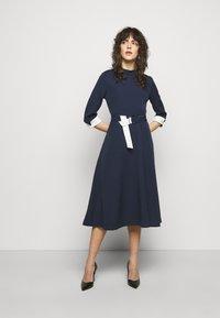 HUGO - DARTINA - Denní šaty - open blue - 1