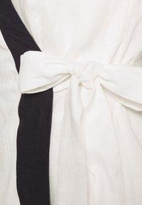 Derhy - RAPHIA DRESS - Day dress - white - 2