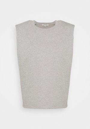 CONI TANK - Top - grey marl