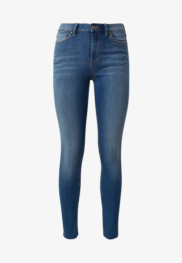 TOM TAILOR DENIM - NELA - Jeans Skinny Fit - mid stone wash