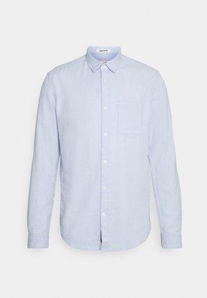 Shirt - light blue dobby