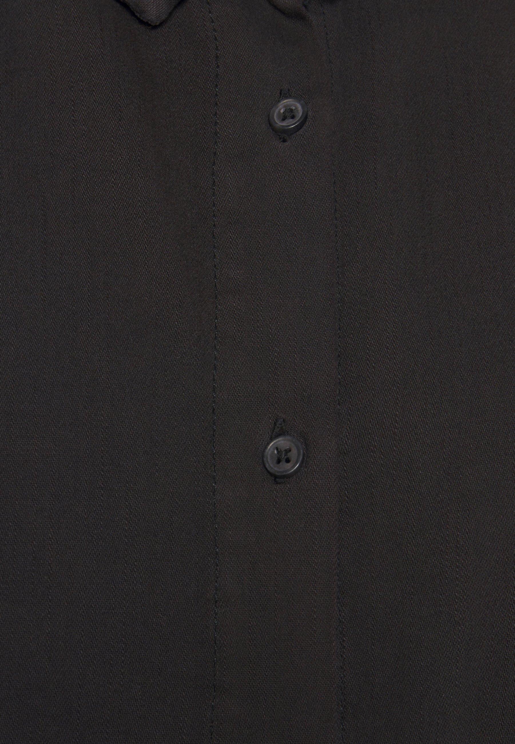 Monki MOLLY DRESS Jeanskleid black/schwarz