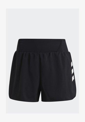 3-STRIPES SPORTS LOOSE - Camiseta estampada - black/white