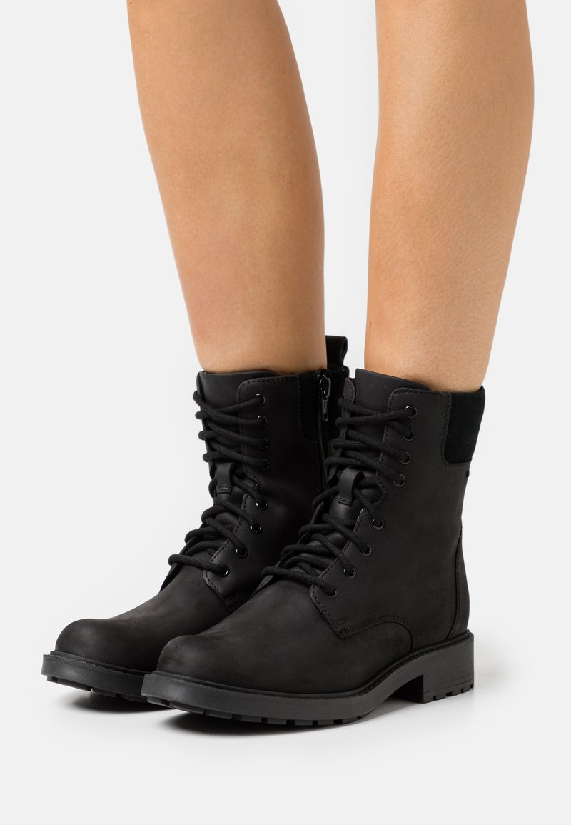 Clarks - ORINOCO UP GTX - Lace-up ankle boots - black