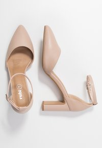 Rubi Shoes by Cotton On - JEANNE CLOSED TOE HEEL - Escarpins - pale taupe - 3