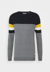 Jack & Jones - JJTUCKER - Stickad tröja - spicy mustard - 3