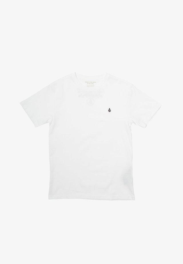 STONE BLANKS  - Basic T-shirt - white