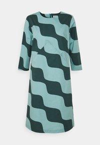 Marimekko - OLKOON TAIFUUNI DRESS - Day dress - turquoise/green - 4