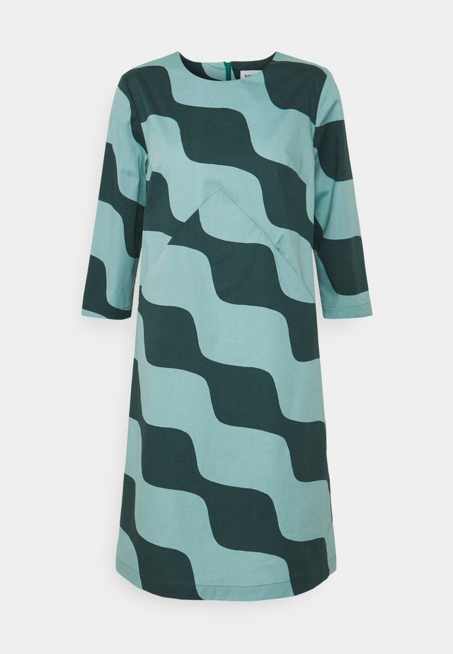 OLKOON TAIFUUNI DRESS - Day dress - turquoise/green