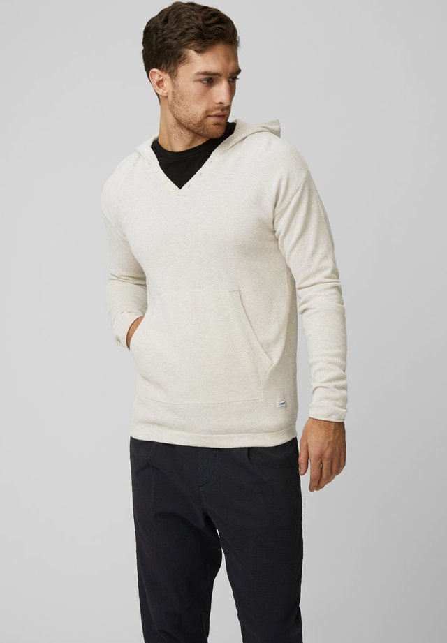 BASIC - Sweat à capuche - sandshell