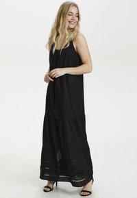Culture - CUBELINDA  - Maxi dress - black - 0