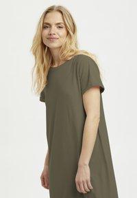 Kaffe - KACELINA - Maxi dress - grape leaf - 2