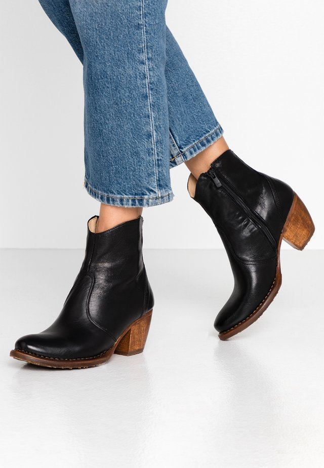 MUNSON - Ankelstøvler - dakota black