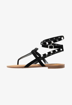 SIRENA - T-bar sandals - black