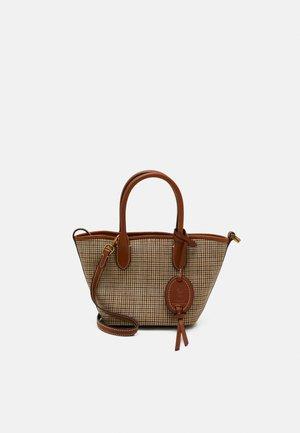 OPEN TOTE MINI - Handbag - brown