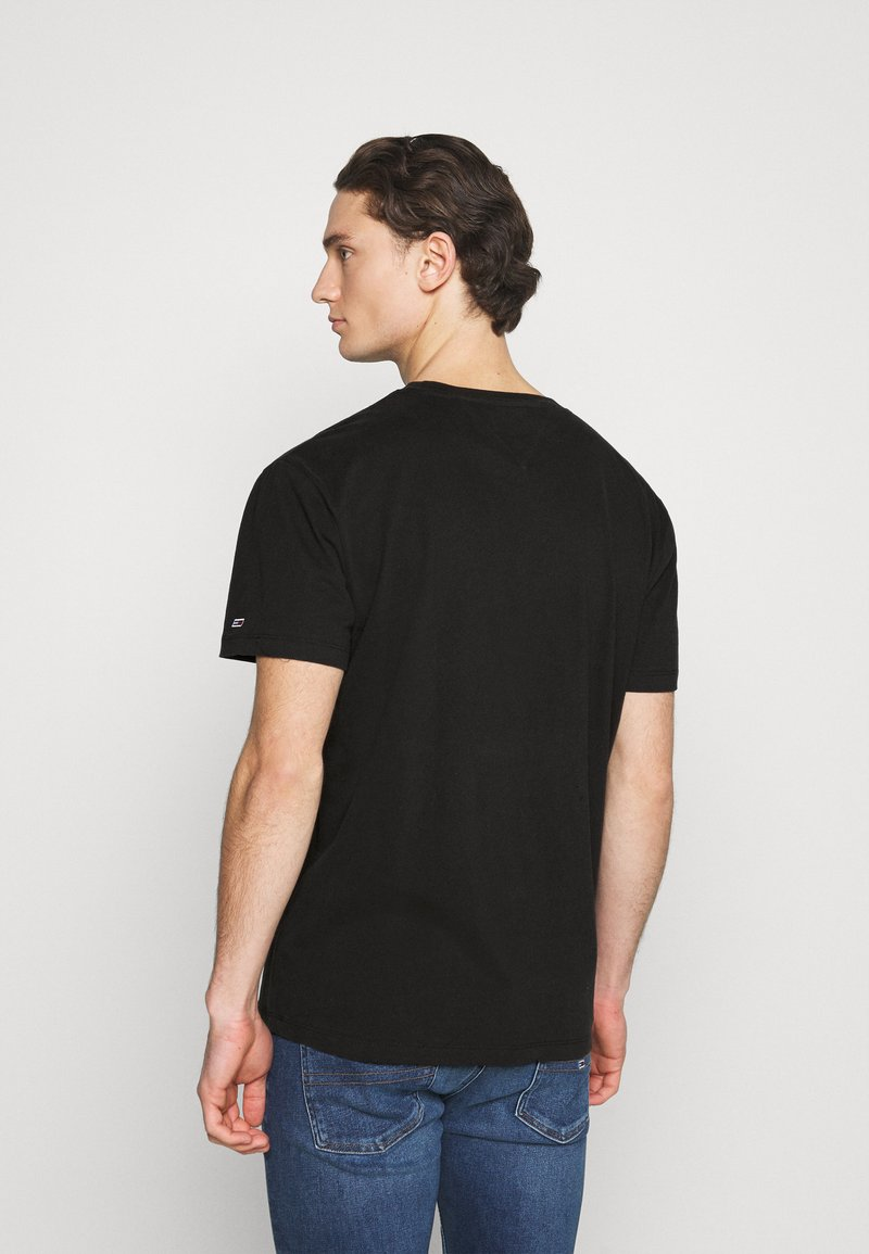 Tommy Jeans - PHOTO GRAPHIC TEE - Print T-shirt - black