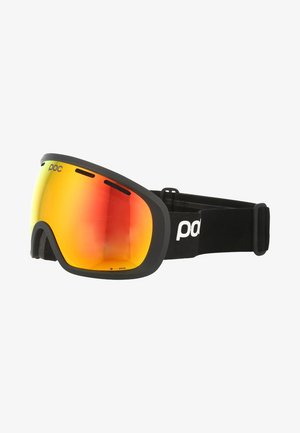 FOVEA CLARITY UNISEX - Occhiali da sci - uranium black/spektris orange