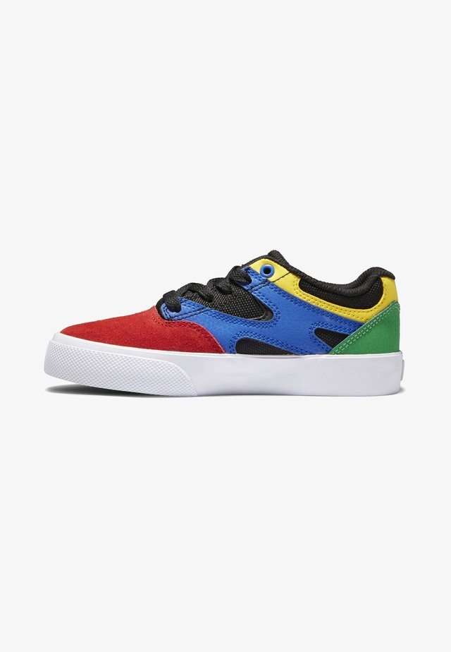 KALIS VULC - Sneakers laag - black/multi