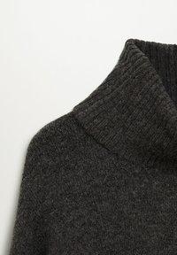Mango - TALDORA - Abito in maglia - tmavě šedá vigore - 7