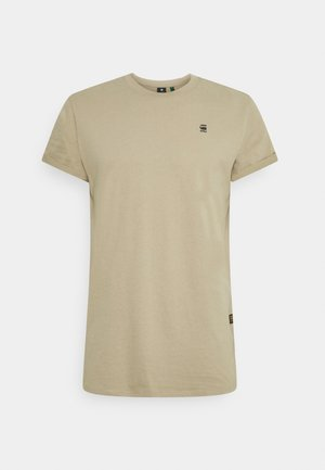 LASH ROUND SHORT SLEEVE - Basic T-shirt - light rock